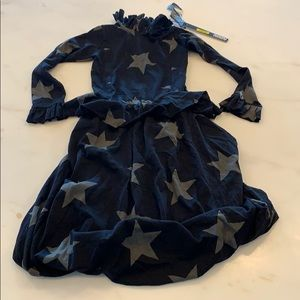 Nununu VICTORIAN STAR BALOON DRESS (0571)
